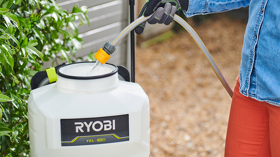 pulvérisateur à dos RY18BPSA Ryobi 18V ONE+